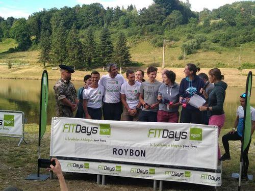 WATT & HOME - Vainqueur du triathlon par équipe FITDAYS MGEN - Etape Bievre-Isère