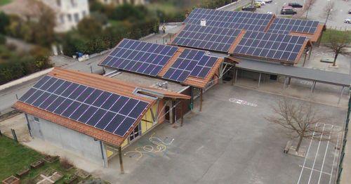 WATT&HOME met en service une installation de 100kWc sur l'école de Saint Nazaire les Eymes (38)