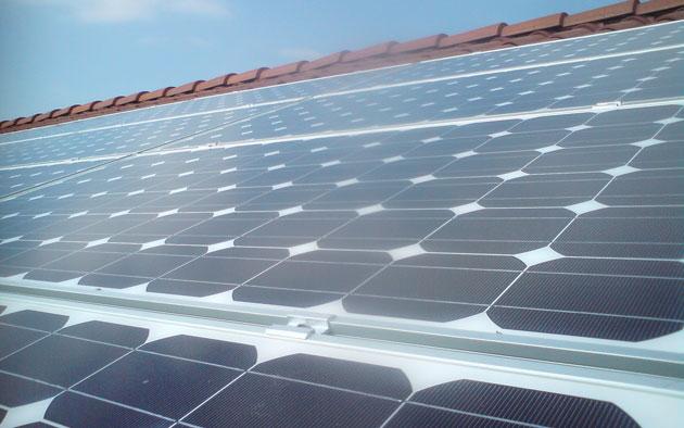 Panneaux solaires sur votre toit