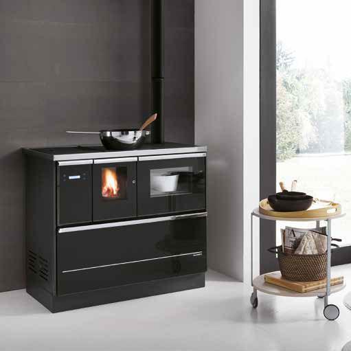 po les granul s paloma 8 2kw palazzetti po les granul s watt et home installation. Black Bedroom Furniture Sets. Home Design Ideas